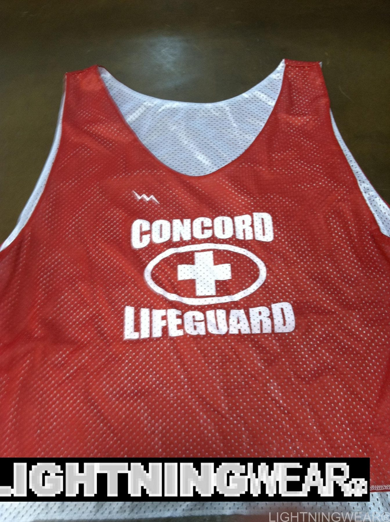Lightning Wear Lifeguard Pinnies