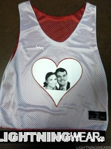 Wedding Reversible Pinnies