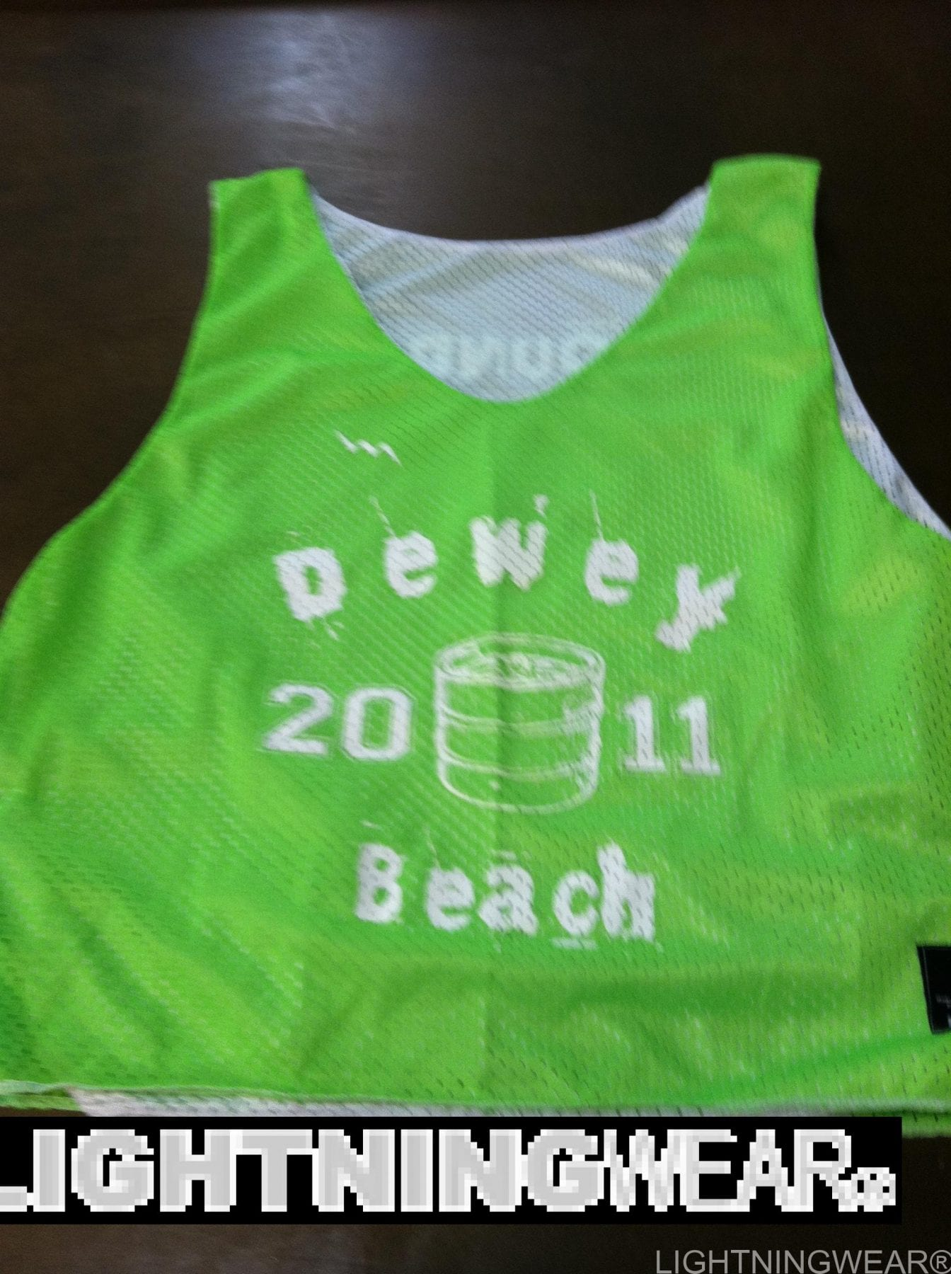 dewey beach lacrosse pinnies