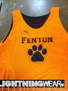 fenton michigan lacrosse pinnies