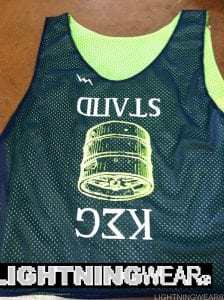keg stand lacrosse pinnies