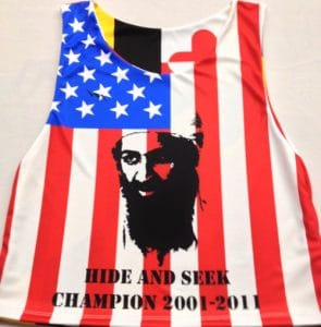 Osama Bin Laden Pinnie