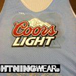 Coors Light Lacrosse Pinnies