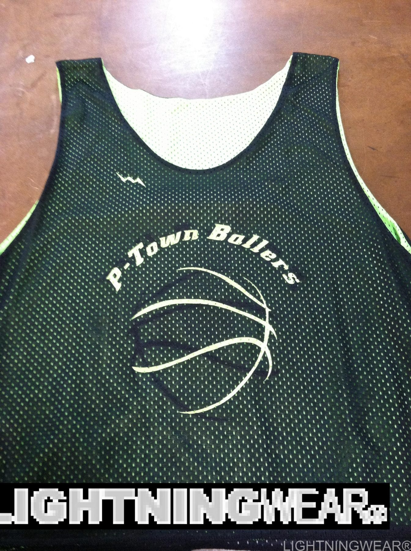 ptown ballers custom basketball reverisble jerseys