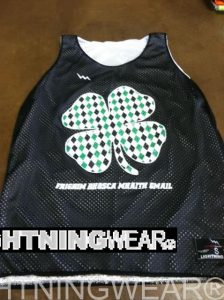 Womens Shamrock Pinnies
