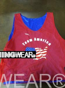 Houston Texas Lacrosse Pinnies