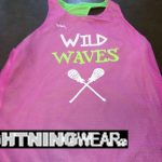 Wild Wave Lacrosse Pinnies