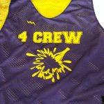4 Crew Camp Pinnies