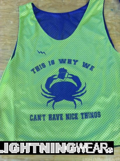 beer crab pinnies