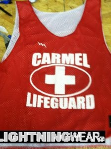 Carmel Lifeguards Pinnies