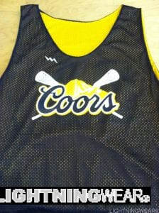 Coors Lax Pinnies