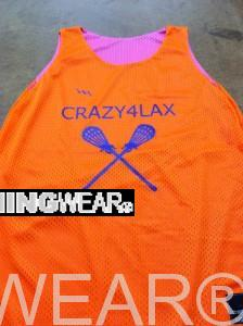 cool lacrosse pinnies