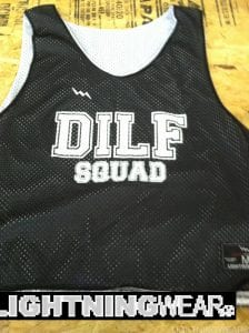 dilf squad pinnies