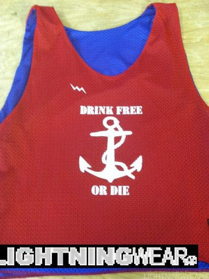 drink free or die pinnies