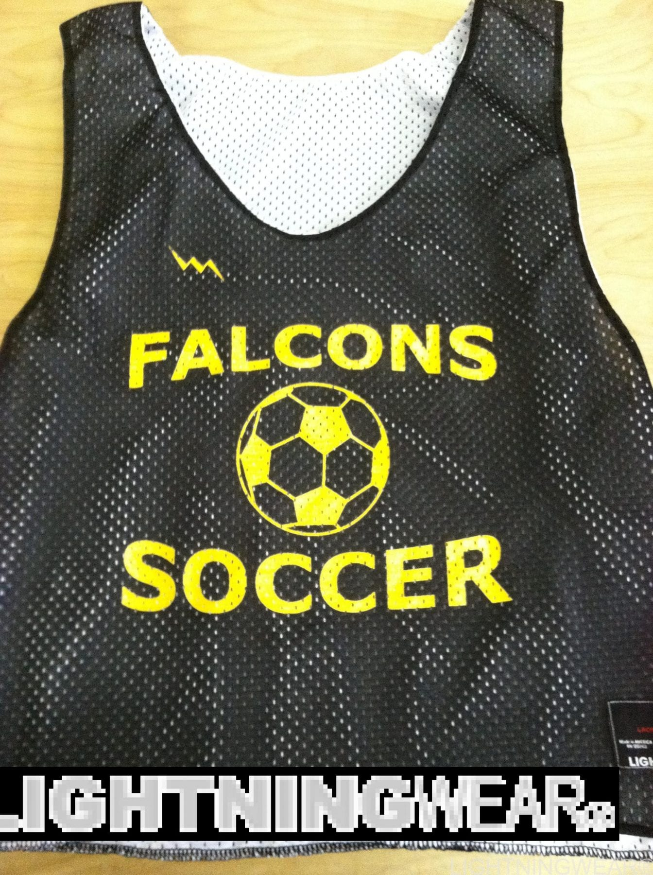 falcons soccer pinnies