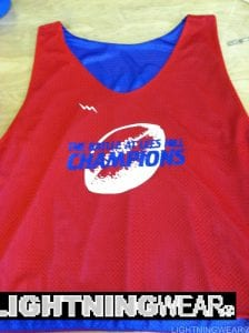 Lees Hill Football Pinnies