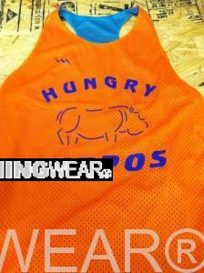 hungry hippos pinnies