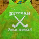 Neon Green Field Hockey Pinnies