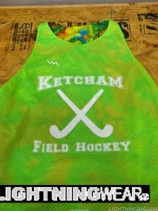 Neon Green Field Hockey Pinnies