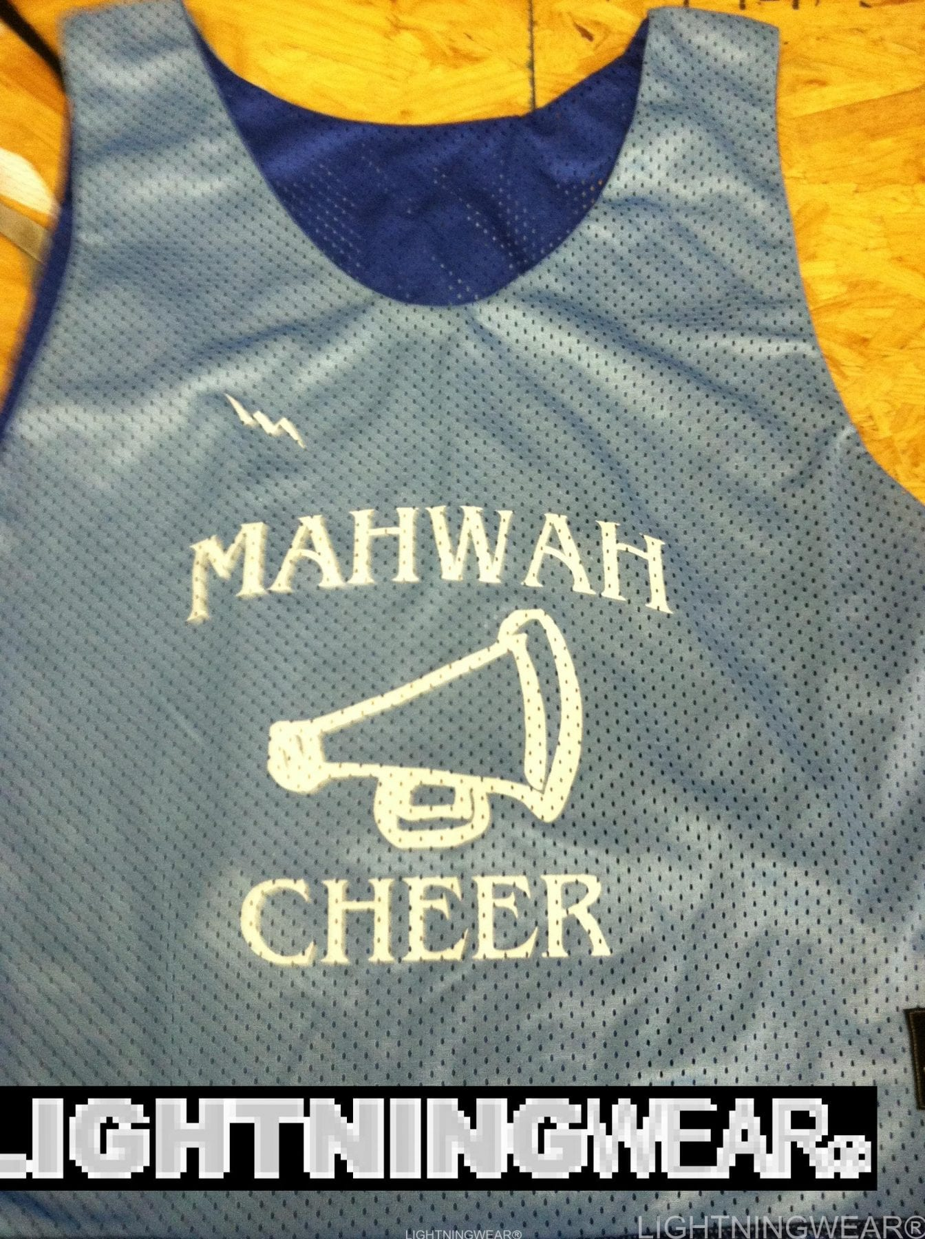 mahwah cheer pinnies