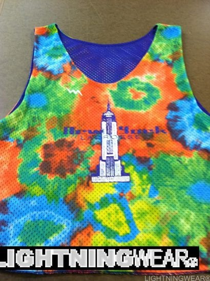 new york lacrosse pinnies