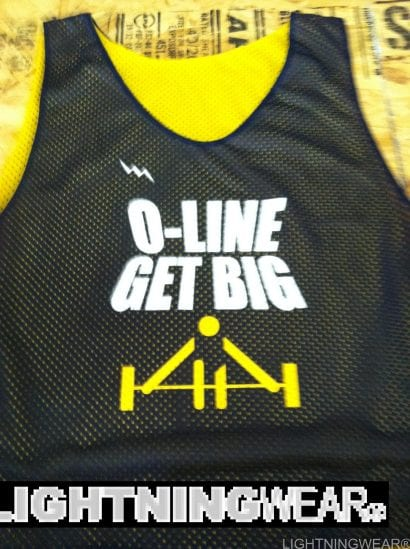oline get big pinnies