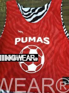 soccer reversible pinnies