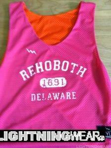 Rehoboth Delaware Lacrosse Pinnies