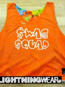 swag squad pinnies