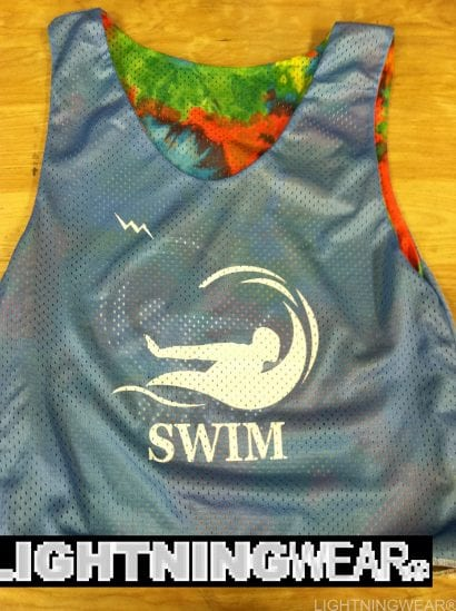 swim pinnies
