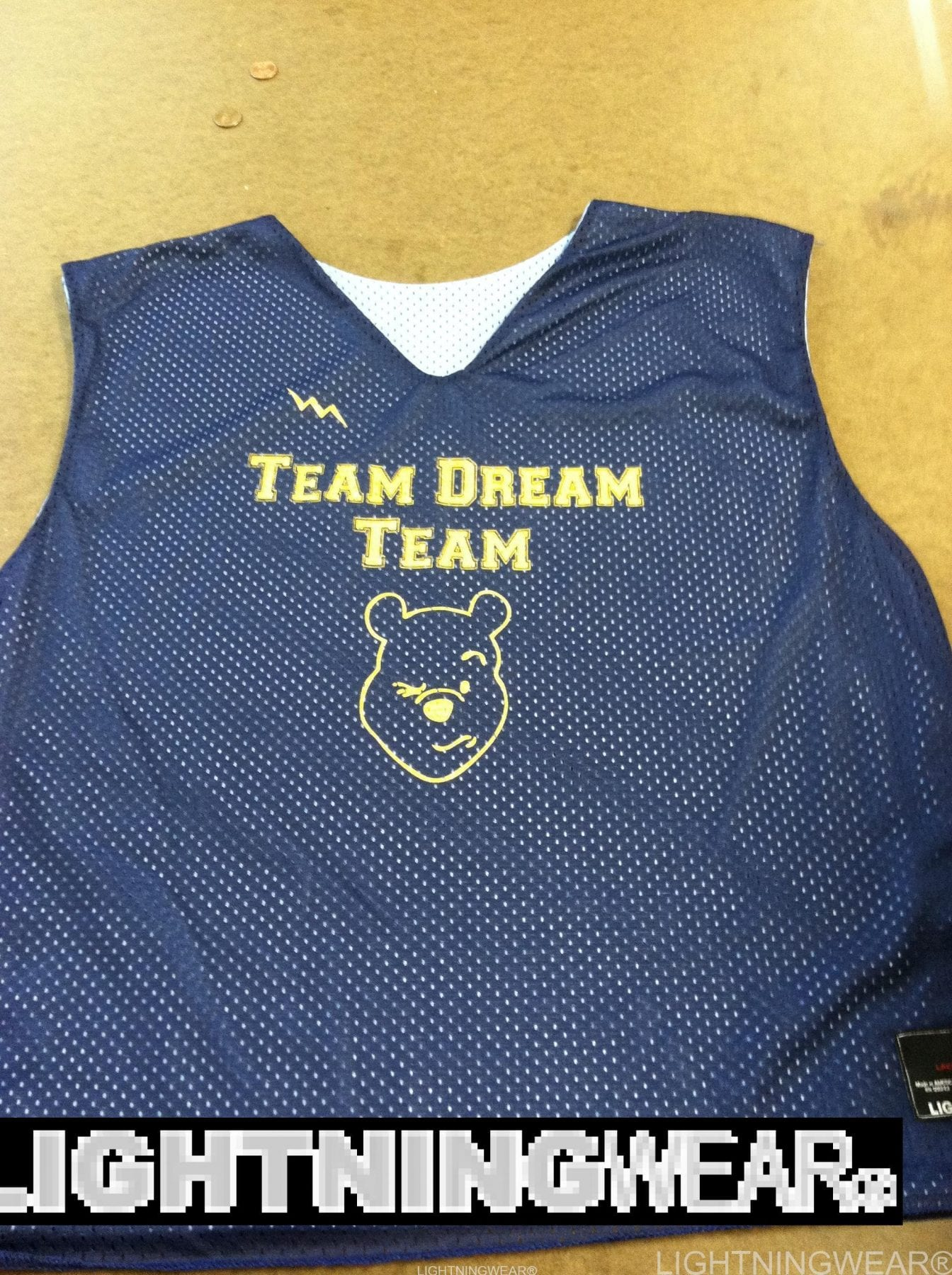 team dream team pinnies