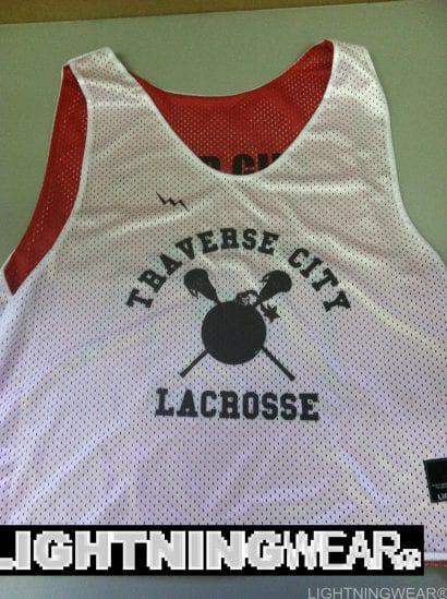 traverse city lacrosse pinnies