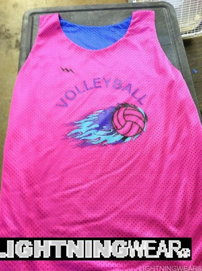 volleyball pinnies