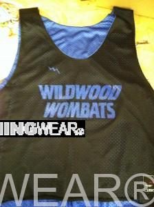 wildwood wombats pinnies