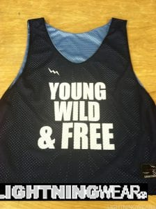 Wild Lacrosse Pinnies