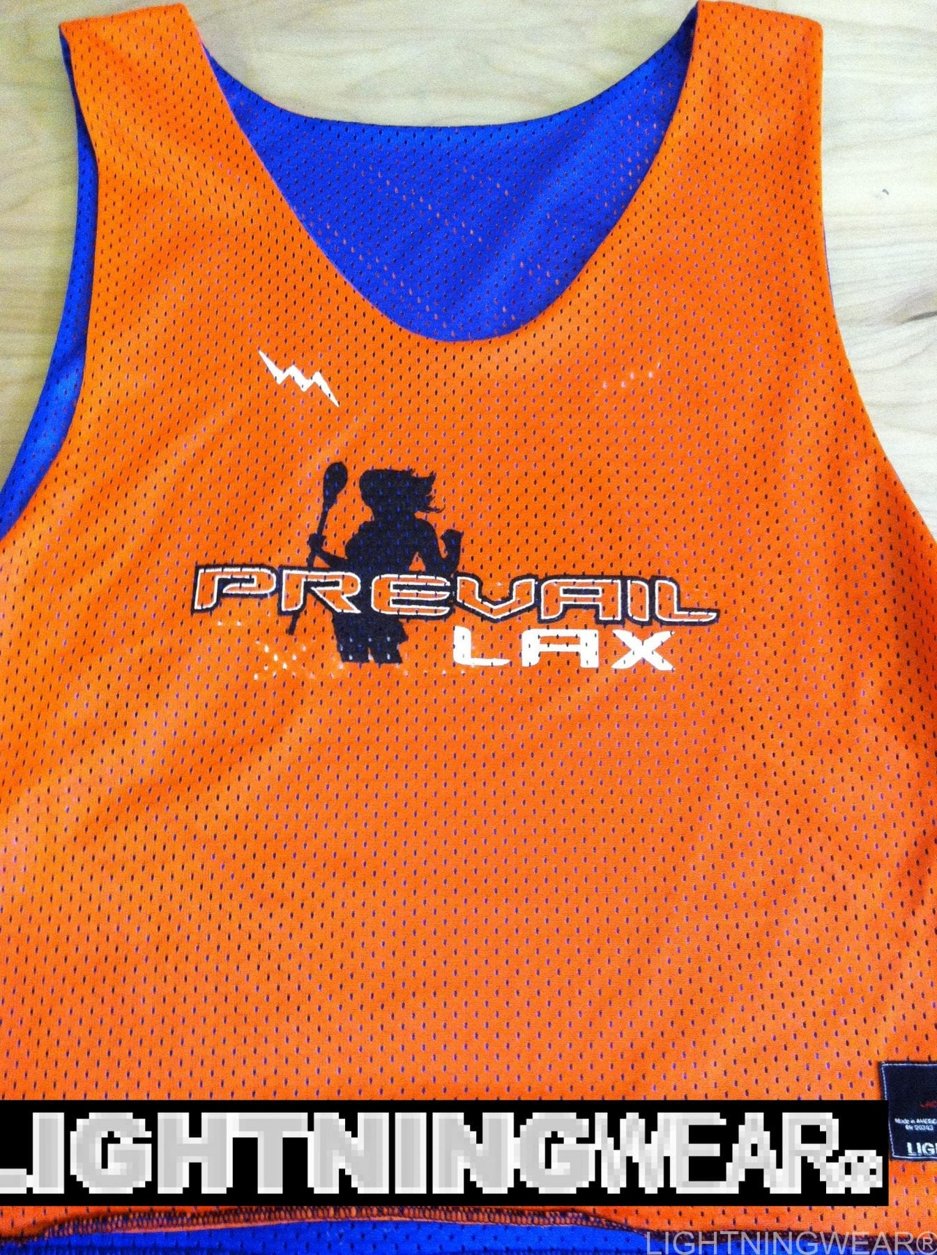 prevail lax pinnies