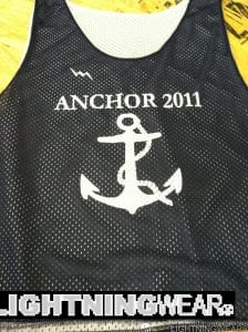 anchor 2011 pinnies