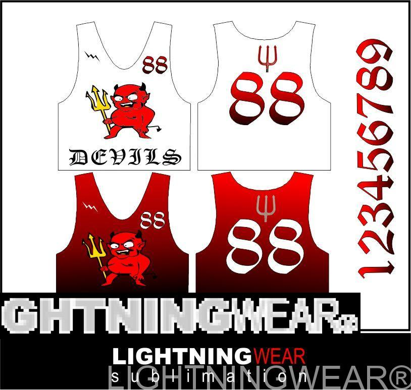 devils sublimated pinnies