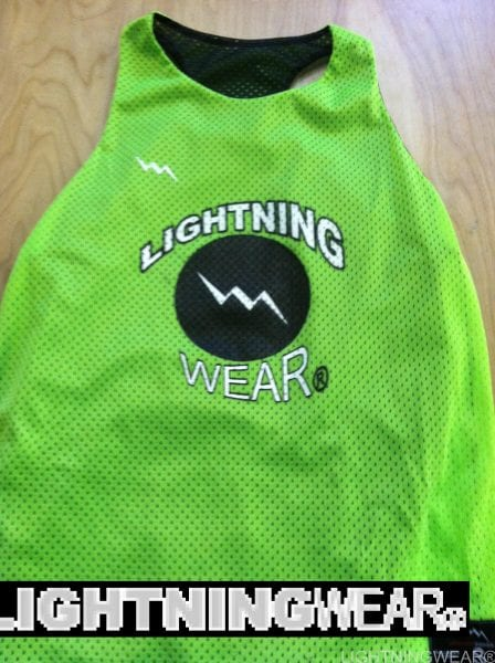 Lightning Wear Girls Pinnies
