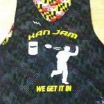 Maryland Flag Ultimate Frisbee Pinnies