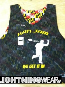 Maryland Flag Ultimate Frisbee Pinnies