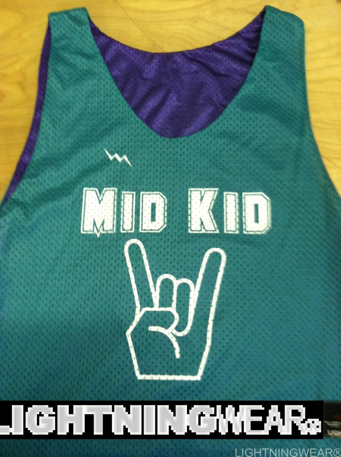 mid kid pinnies