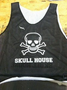 skull house pinnies