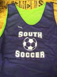 Custom Soccer Reversible Jerseys