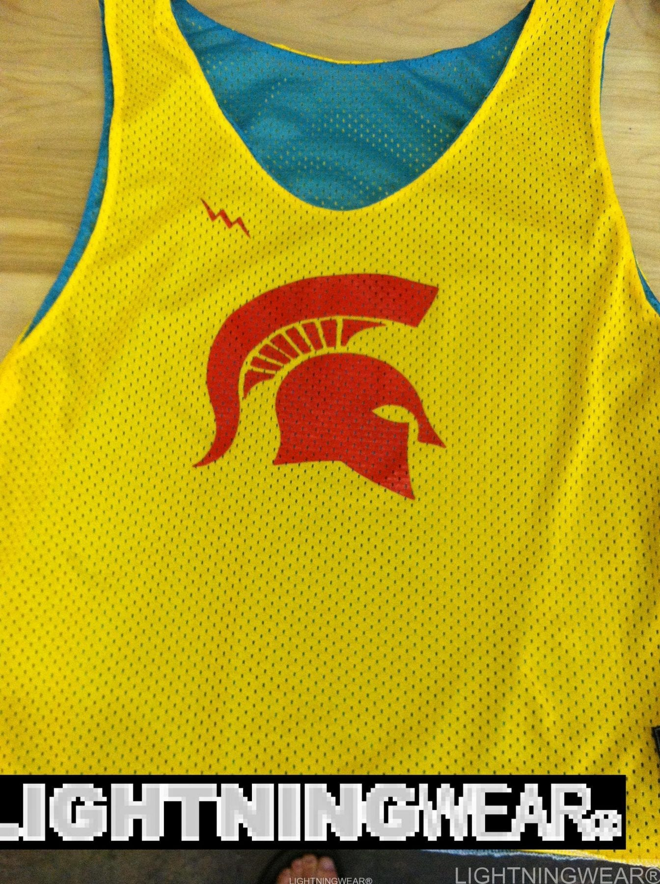 spartan pinnies