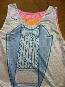 Sublimated Tuxedo Pinnies