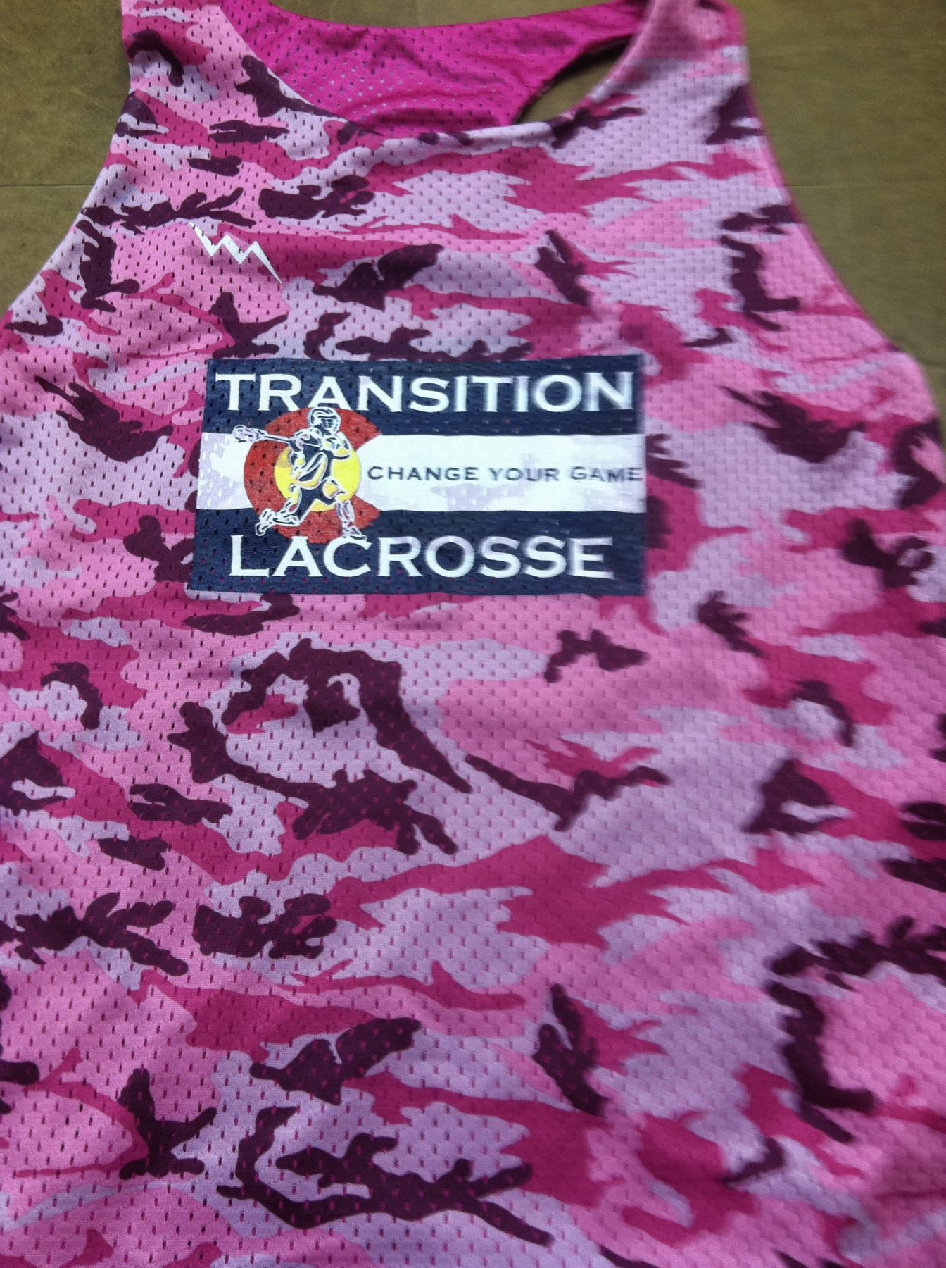 transition lacrosse pinnies