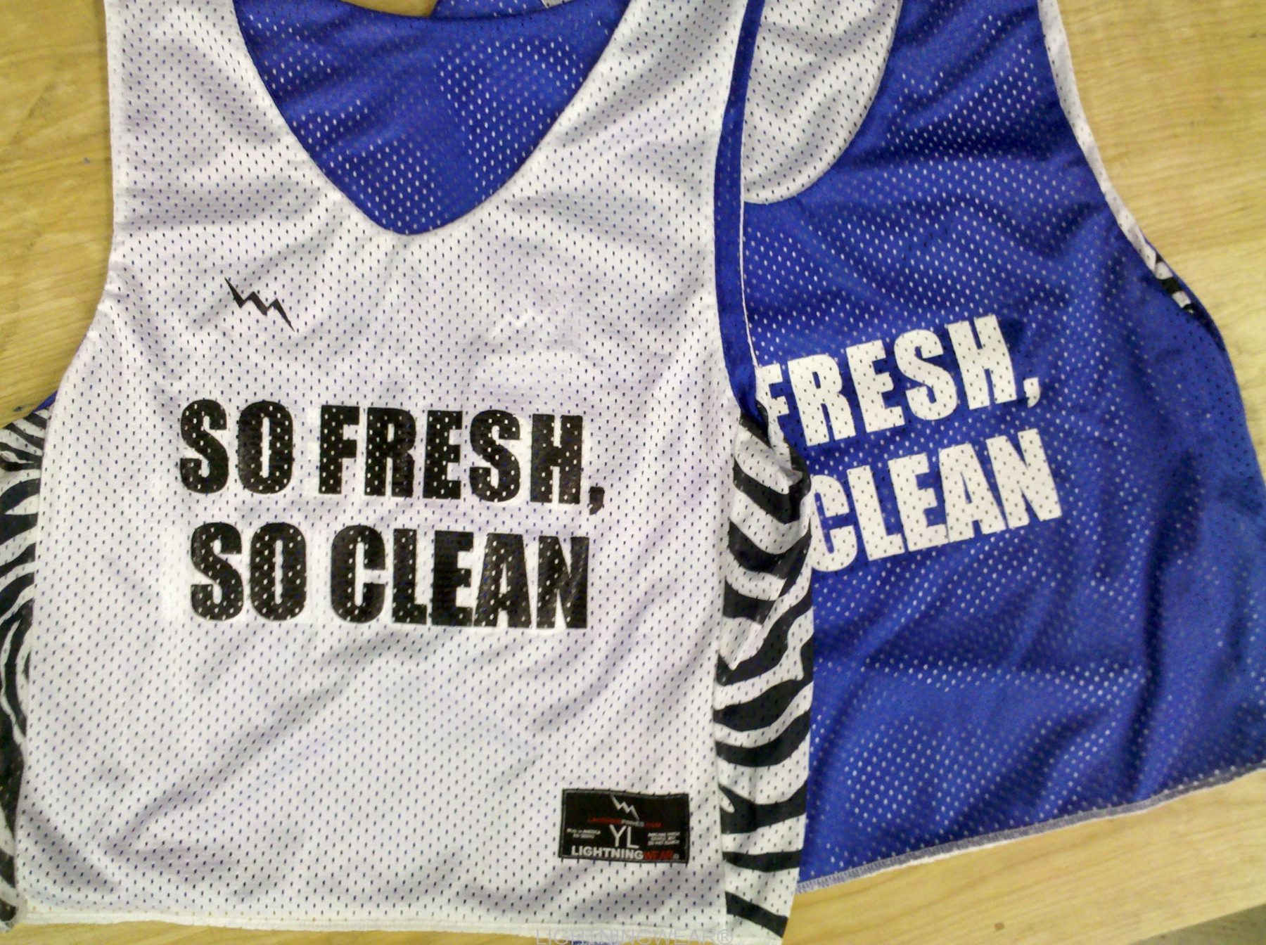 so fresh so clean pinnies