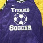 Purple Soccer Pinnies