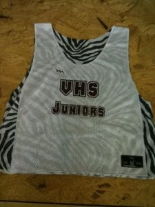 vhs junior pinnies